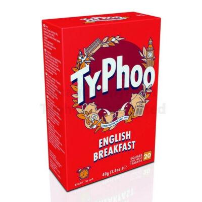 Typhoo English Breakfast Tea - 20 db filter
