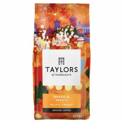Taylor's Cafe Brasilian Rich Roast Coffee 227g