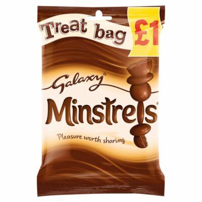 Galaxy Minstrels Treat Bag 80g