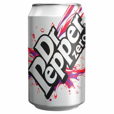 Dr Pepper Zero (GB) 330ml