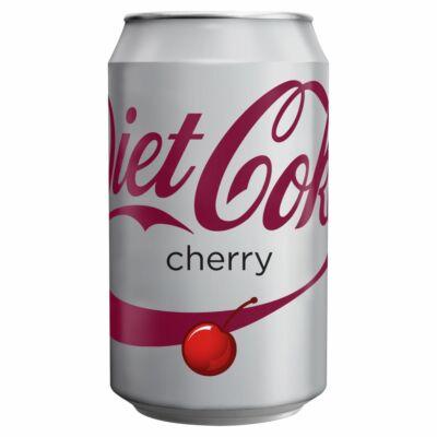 Coca Cola Diet Cherry 330ml