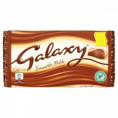 Galaxy Milk Block tejcsokoládé 114g