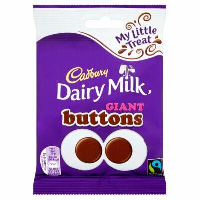 Cadbury Giant Buttons (Gomb alakú tejcsokoládé) 80g