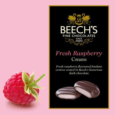 Beech's Dark Chocolate Raspberry Creams 90g