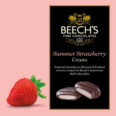 Beech's Dark Chocolate Strawberry Creams 90g