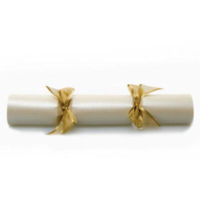 Celebration Crackers Wedding Ivory Pearl Party Crackers 25db 10 inch méretû cracker