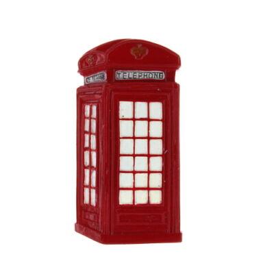 Telefonfülkés hűtőmágnes