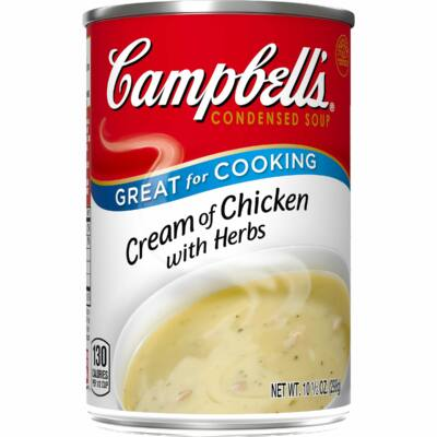 Campbell Condensed Soup Cream Of Chicken 295g