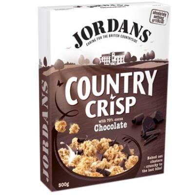 Jordans Country Crips Chocolate - csokoládés müzli - 500g
