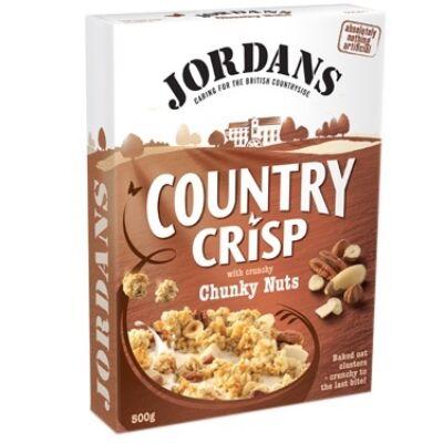 Jordans Country Crisp Chunky Nuts müzli 500g