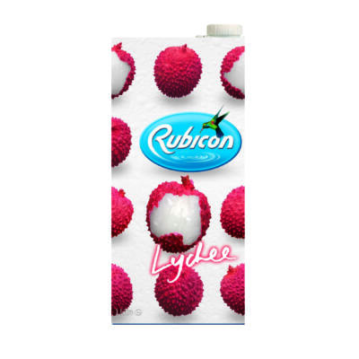 Rubicon Lychee Gyümölcsital - 1 Liter