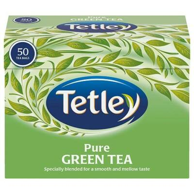 Tetley Pure Green Tea 50 db filter