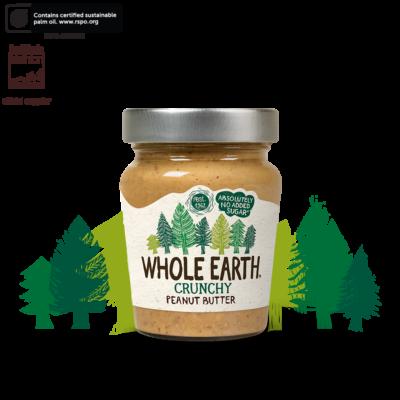 Whole Earth Original Crunchy Peanut Butter 227g