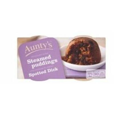 Aunty's Spotted Dick Pudding 2x95g