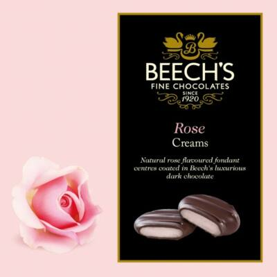 Beech's Rose Creams 90g