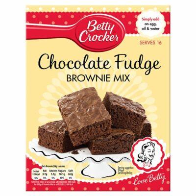 Betty Crocker Chocolate Fudge Brownie Mix (Csokoládés Fudge Brownie Mix)
