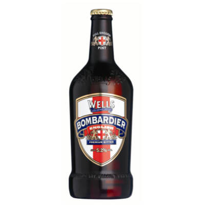 Well's Bombardier English Premium Bitter Sör (500ml, 5,2%)
