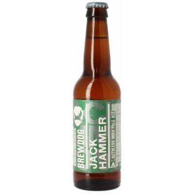 BrewDog Jack Hammer (330ml, 7.2%) palackos