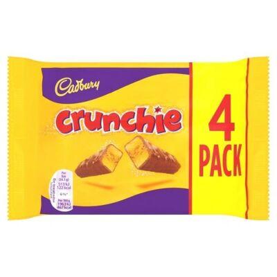 Cadbury Crunchie 4-es csomag  104g