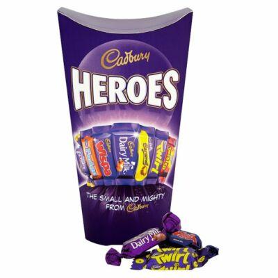Cadbury Heroes tejcsokoládé válogatás 185g