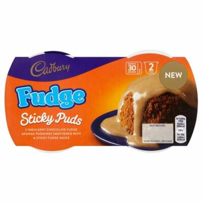 Cadbury Sponge Pudding Fudge 2db