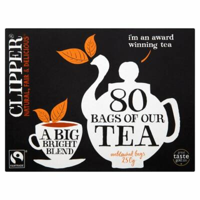 Clipper Fairtrade Everyday Tea 80 db filter
