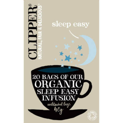 Clipper Bio Sleep Easy Tea 20 db filter