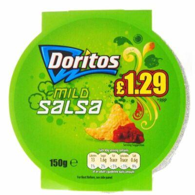 Doritos Mild Salsa Dip 150g - Enyhén csípős mártogatós szósz