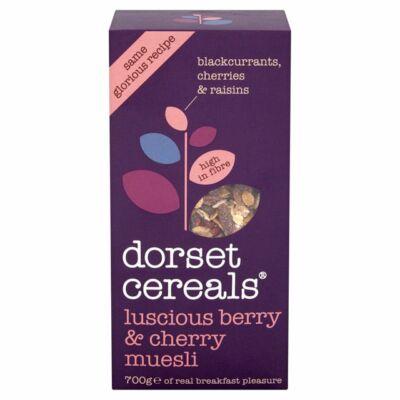 Dorset Cereals Berries & Cherries Muesli (Müzli bogyós gyümöcsökkel és cseresznyével) 700g