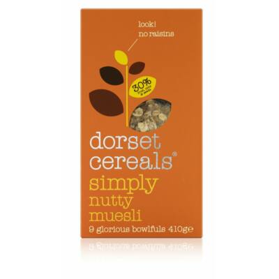 Dorset Cereals Simply Nutty 700g (Müzli Teli Mogyoróval)