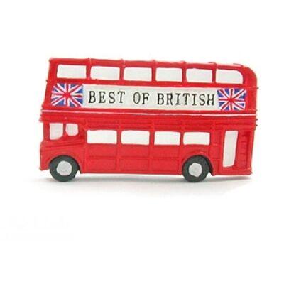 London Bus hűtőmágnes