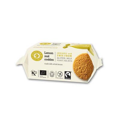 Doves Farm Lemon Zest Gluten Free, Organic & Fairtrade (citromos keksz) 150g