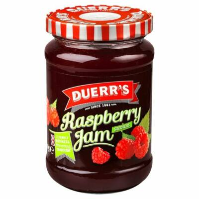 Duerr's Seedless Raspberry 340g