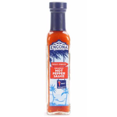 Encona West Indian Original Hot Pepper Sauce 142ml