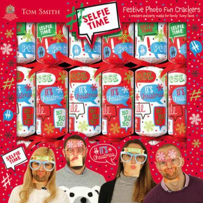 "Tom Smith Festive Photo Fun Crackers (6x12"" méretű cracker)"