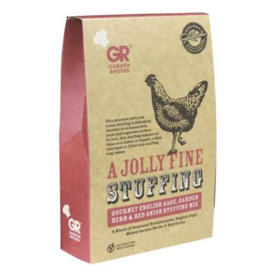 Gordon Rhodes - Gluten Free Gourmet English Sage and Onion Stuffing 125g