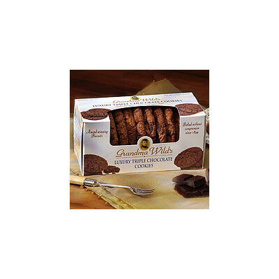 Grandma Wilds Triple Choc Biscuits (Tripla csokoládés keksz)