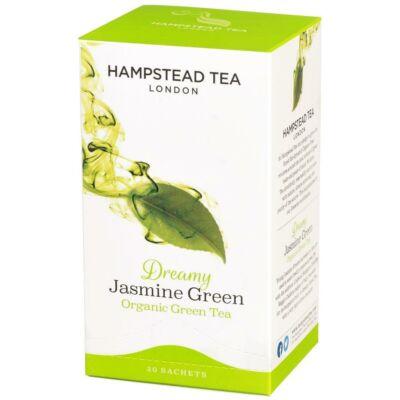 Hampstead Organic Jasmine Green Tea (Bio Zöld Tea Jázminnal) 20 db filter