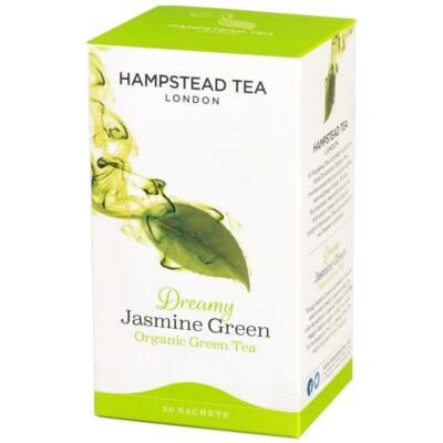Hampstead Organic Jasmine Green Tea (Bio Zöld Tea Jázminnal) 20 db filter