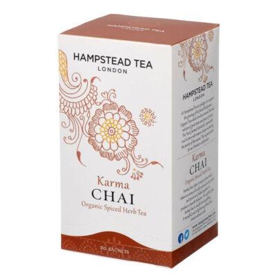 Hampstead Organic Karma Chai Tea (Bio Herbal Chai Tea) 20 db borítékolt filter