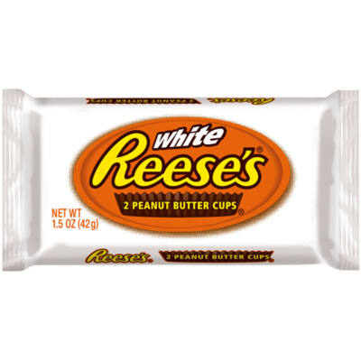 Hershey's White Reeses Peanut Butter Cups 42g