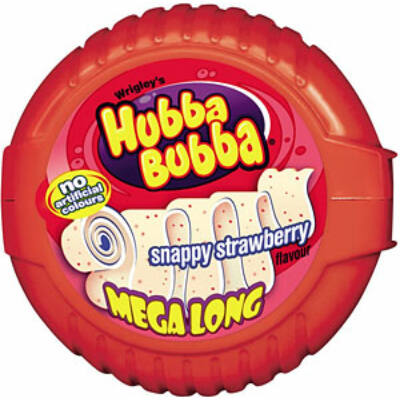 Hubba Bubba Bubble Tape - Snappy Strawberry