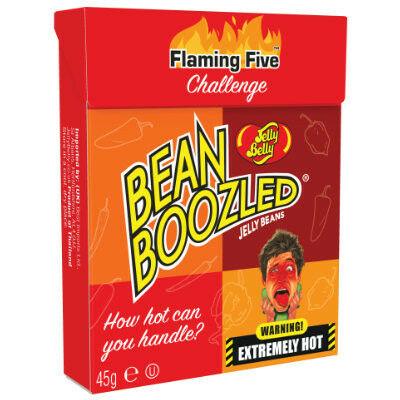 Jelly Belly Beanboozled Flaming Five dobozos utántöltő (45g)