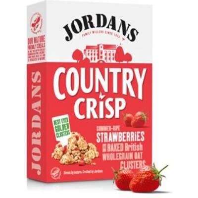 Jordans Country Crisp Strawberries - Epres müzli 400g