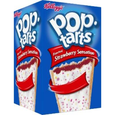 Kellogg's Pop-Tarts Strawberry Sensation