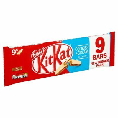 Kit Kat 2 Finger Cookies & Creme 9pk