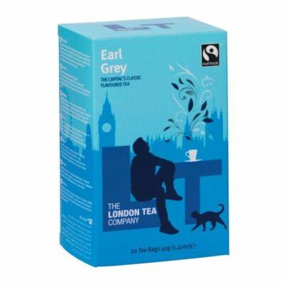 The London Tea Company - Earl Grey Tea 20 db borítékolt filter