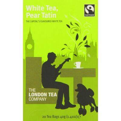 The London Tea Company - White Tea, Pear Tatin Tea (fehér tea körtével) 20 db filter
