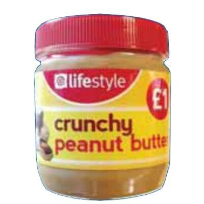Lifestyle Value Peanut Butter Crunchy 340g