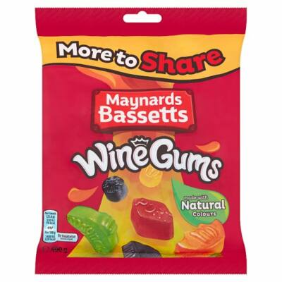 Maynards Wine Gums 400g